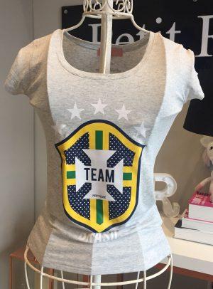 T-shirt TEAM BRASIL Mescla