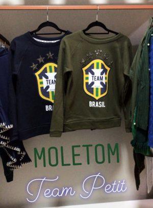 Moletom TEAM BRASIL Verde