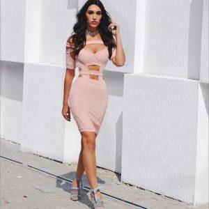 Vestido Bianca Rosa