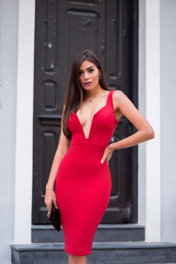 Vestido Nicole Vermelho