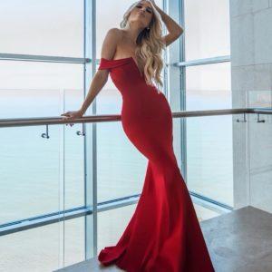 Vestido Catarina Vermelho
