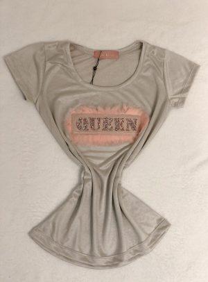 T-shirt Queen Prata
