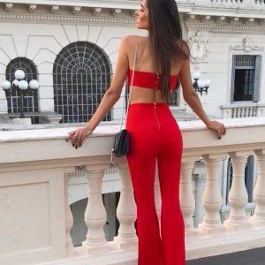 Calça Safira Vermelha