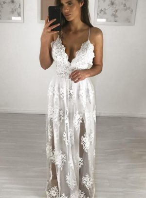 Vestido Pillar Branco