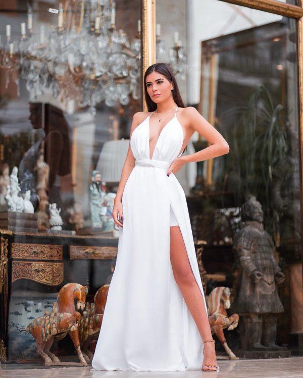 Vestido Melissa Off White