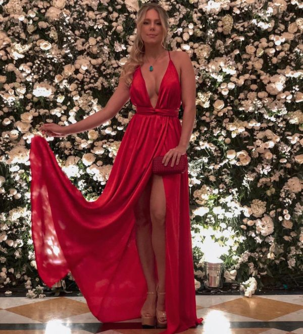 Vestido Melissa Vermelho