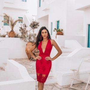 Vestido Mariah Vermelho
