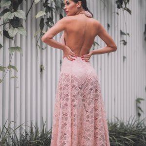 Vestido Manuela Rosé