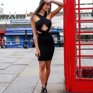 Vestido Jenny Preto