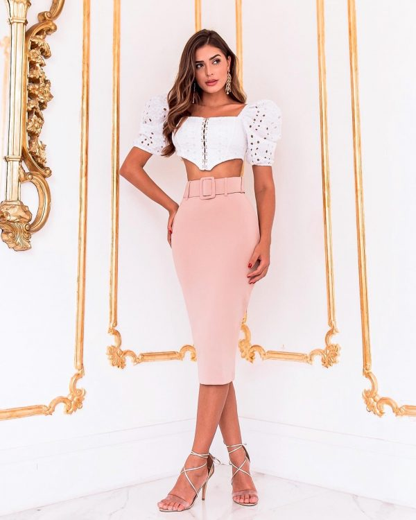 Cropped Milly Branco