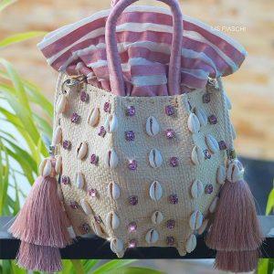 Bucket Bag Kiki Rosa Chá
