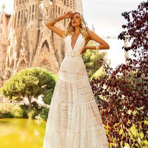 Vestido Lisa Branco