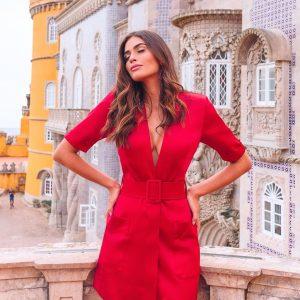 Vestido Blazer Verônica Vermelho