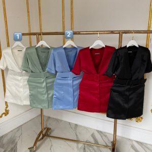 Vestido Blazer Verônica Branco [1]