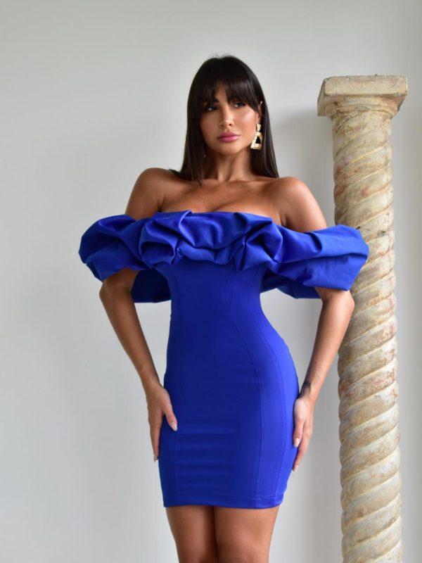 Vestido Audrey Azul
