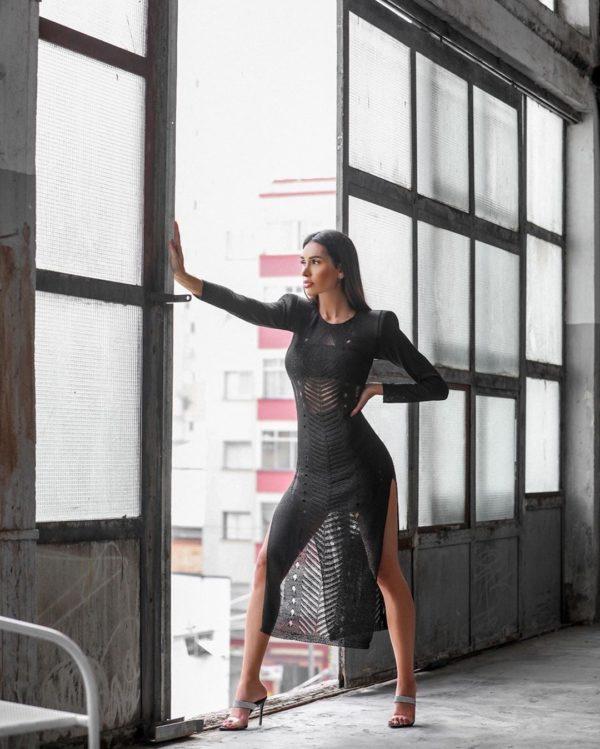 Vestido Olívia Preto