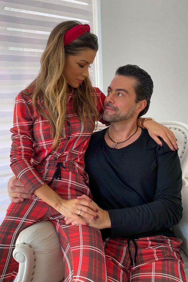 Pijama Estampa Xadrez Feminino