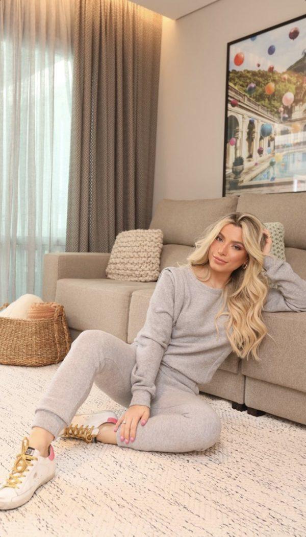 Pijama Moletinho Mescla