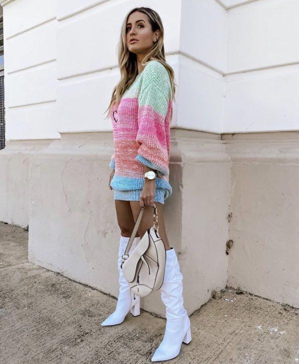 Vestido Tricot Popstar