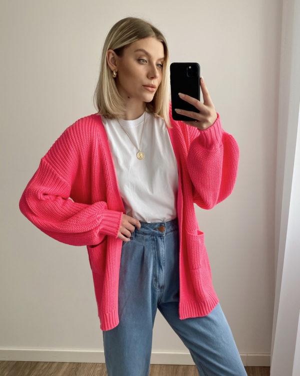 Cardigan Lana Pink