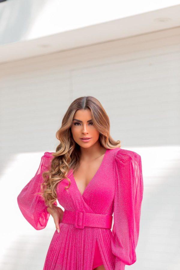 Vestido Sabrina Pink