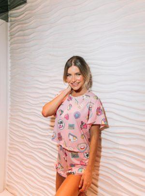 Pijama Play 90's Versão Short