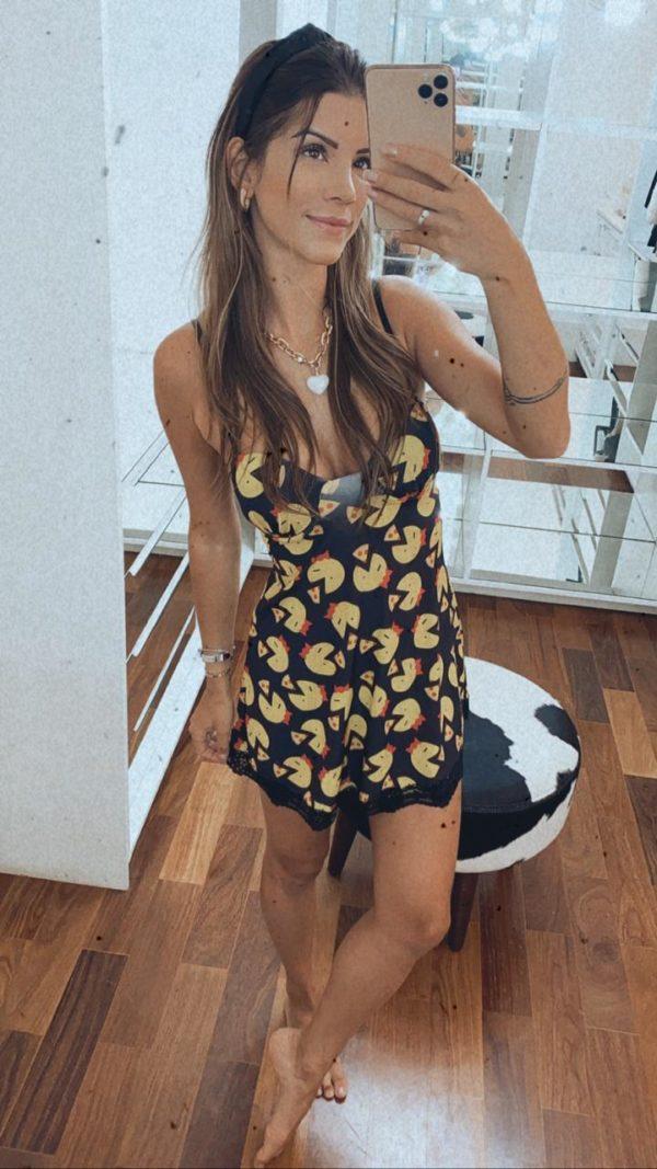 Pijama Camisola Pacman
