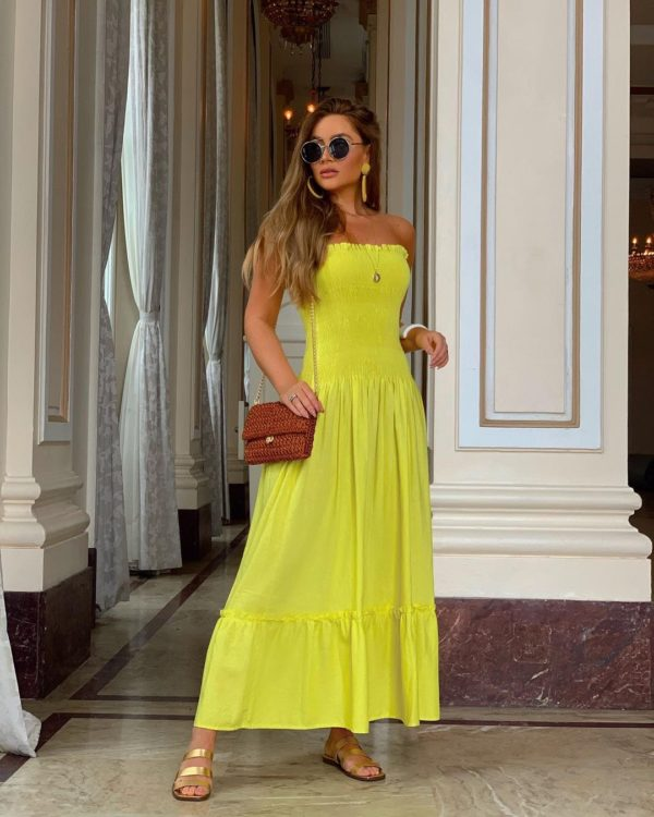 Vestido Linho Luara